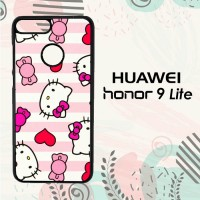 Casing Huawei Honor 9 Lite Custom HP Wallpaper Hello Kitty LI0196