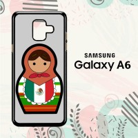 Casing Samsung Galaxy A6 2018 Custom HP Mexican Matroska L2583