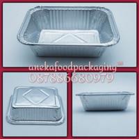 Wadah/cup aluminium foil Ox 160