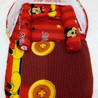 Kasur Bayi Lipat Kelambu Karakter Murah Bagus Mickey