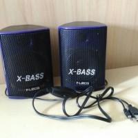 #DE040 / Speaker Aktif Fleco F-018 Xtra Bass/ Speaker Komputer F018