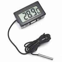 Thermometer / Termometer Digital Waterproof Probe Free Baterai
