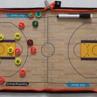 Papan Strategi Basket ~ Basketball Coach Board