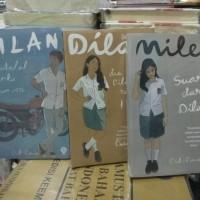 NOVEL paket 3 novel dilan 1990. dilan 1991, milea