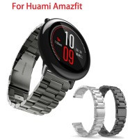 Amazfit PACE Stainless Steel Strap Xiaomi Huami Smartwatch - Hitam