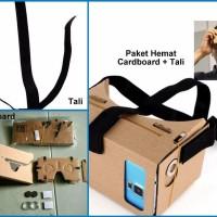 PROMO Google Cardboard Virtual Reality VR 3D Karton HP Kacamata Nont