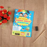 Buku Anak : Aku pintar Membaca, Menulis, Menghitung
