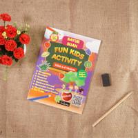 Buku Anak : Sayur Buah Fun Kids Activity Usia 4-6 tahun