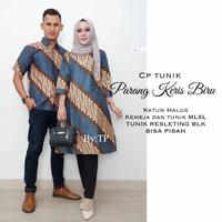 Jual Sarimbit Couple Tunik Batik Parang Keris Murah