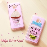 Casing Hp Samsung J2 Pro Magic Glitter Case