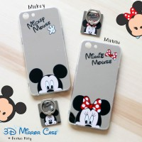 Casing Hp Oppo A83 3D Mirror Case