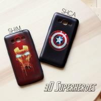 Casing Hp Samsung J2 Prime 3D Superheroes