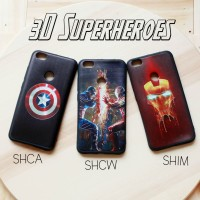 Casing Hp Xiaomi Redmi Note 5A Prime 3D Superheroes