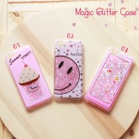 Casing Hp Oppo A83 Magic Glitter Case