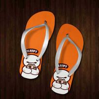 Baymax sandal sendal jepit teplek wanita anak pria