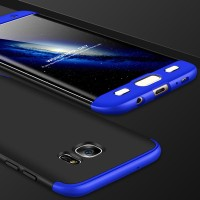 Samsung galaxy S7 edge 360 protection slim matte case --