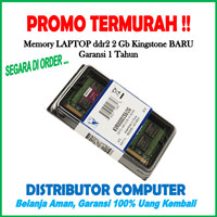 RAM LAPTOP DDR2 2GB PC6400 KINGSTONE (MEMORY / SODIMM NOTEBOOK  2 GB)