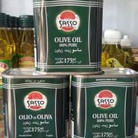 Minyak Zaitun SASSO 175 ml-Olio di Oliva (Impor dari Italy)
