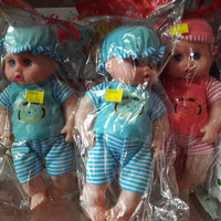 Boneka Bayi bisa bunyi / mainan boneka bayi