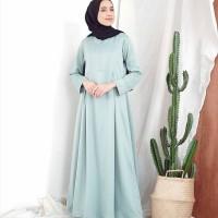 NARA BASIC DRESS MINT AQ002 , Jual Dress Murah Terbaru Super Best Sel