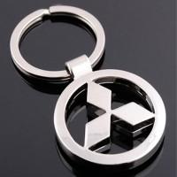 Gantungan Kunci : Logo MITSUBISHI - Metal Keychain Keyring