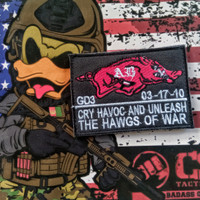 Morale patch hawg of war