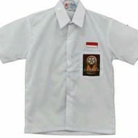 Seragam SMA lengan Pendek (kemeja SMA putih lengan pendek)