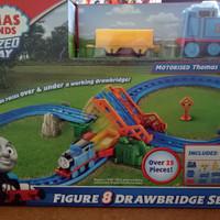 Thomas & Friends Motorized Railway Figure 8 DrawBrige set free baterai