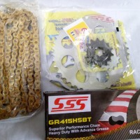 gear sss all new cbr 150 r.original sss full 415 slim Diskon