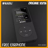 MP3 PLAYER RUIZU X02 HIFI DAP RADIO FM WAV WMA ORIGINAL RUIZU X02 ORI