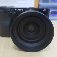 Kamera Mirrorless Sony A6000 + Lensa Fix Sigma 30MM