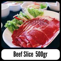 Harga daging sapi potongan iris tipis slice beef yakiniku shabu | antitipu.com