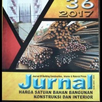 Heboh Cuci Gudang ! Jurnal Harga Satuan Bahan Bangunan 36-2017 .