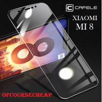 CAFELE XIAOMI MI 8 MI8 TEMPERED GLASS CLEAR HD