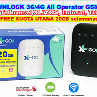 MiFi 4G XL GO Movimax MV003 UNLOCK Gratis Kuota 20GB