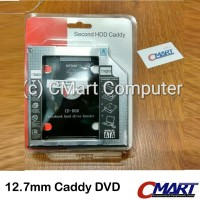 SSD HDD Caddy Slim 12.7 mm SATA DVD Slot Hardisk - GRC-BR-HDSC127
