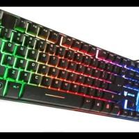 Harga keyboard gaming rexus k9 back light fake mechanical | WIKIPRICE INDONESIA
