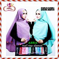 Hijab Simple Pet / Pashmina Motif / Jilbab Khimar Remaja - JJE