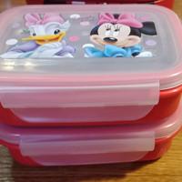 Kotak Makan Anak Minnie Mouse Set 2 + Bag