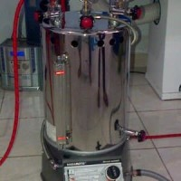 Setrika Uap Gas Boiler NAGAMOTO 25 Liter Full Casing Kompor Ot laris