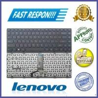 Keyboard Laptop Lenovo IdeaPad 100-14IBD Hitam