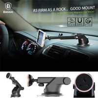 Baseus Telescopic 360 Car Phone Dashboard Mount Magnetic Stand Holder
