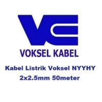 Kabel Listrik Voksel NYYHY 2x2.5mm 50m