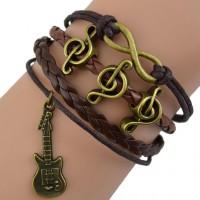 Gelang Wanita Vintage Melody Bangle Musician Bracelet