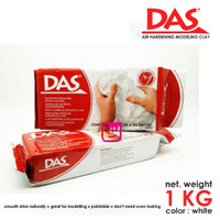 DAS Air Drying Modelling Clay White 1000 gr