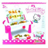 Mainan Edukasi Meja Belajar Magnetic Learning Sketchpad Hello Kitty