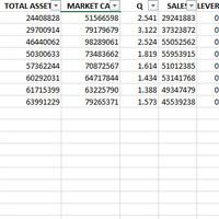 Excel Data Keuangan Perbankan 1998-2017 (IDX)