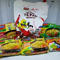 Indomie asian games goodie bag tas serut satukan tekad indonesia 18th