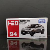 Tomica TOYOTA C-HR CHR CH-R Gunmetal Grey Gray No.94 barang limited
