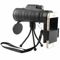 Teleskop Lensa Pembesar Telescope Zoom 40x60+TRIPOD Teropong Kamera HP